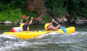bidon canoe