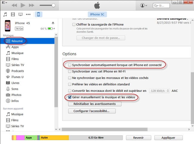 comment transferer photo iphone vers pc