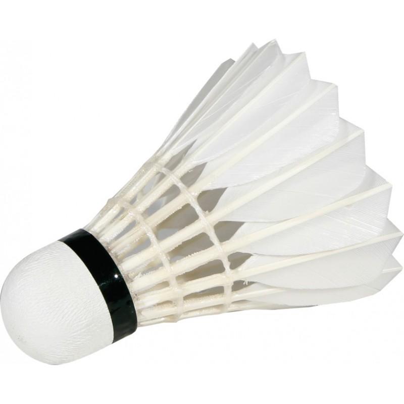 volant badminton plume