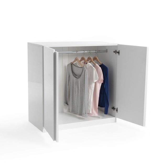 armoire basse penderie