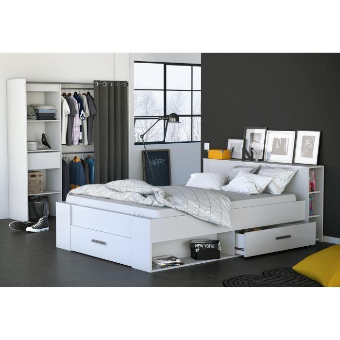 lit deux personnes