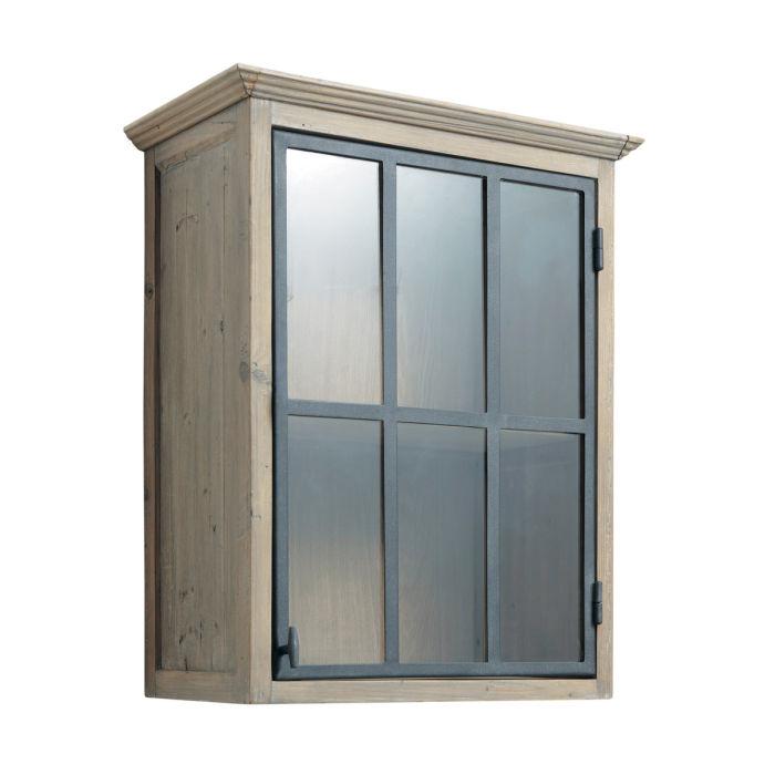 meuble cuisine haut vitré