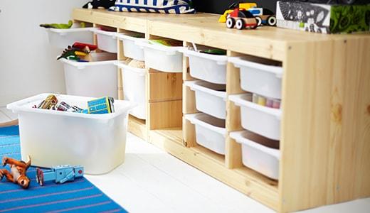 meuble rangement jouet enfant