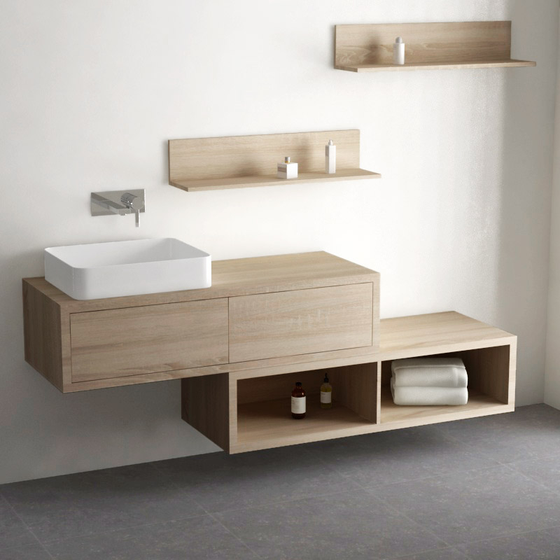 meuble sous vasque salle de bain