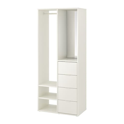 armoire ouverte
