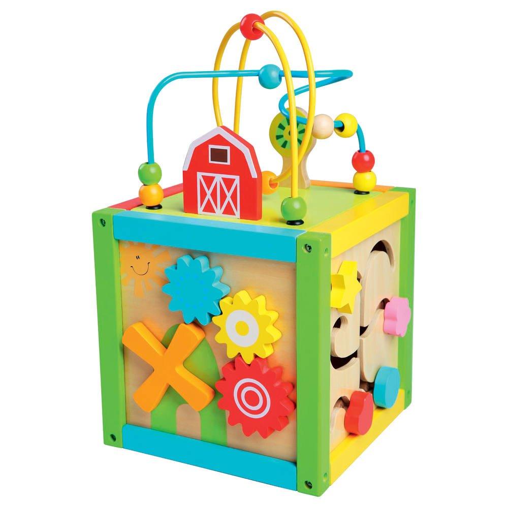 cube d activité bébé